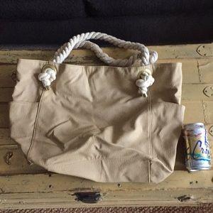 Handbags - NWOT RAMPAGE PEBBLED VEG LEATHER OVERSIZED BAG